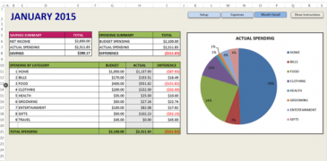 Best Top 5 Budgeting Templates for Excel