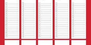 Top Best 8 Planner Templates for Excel -TemplateGuider