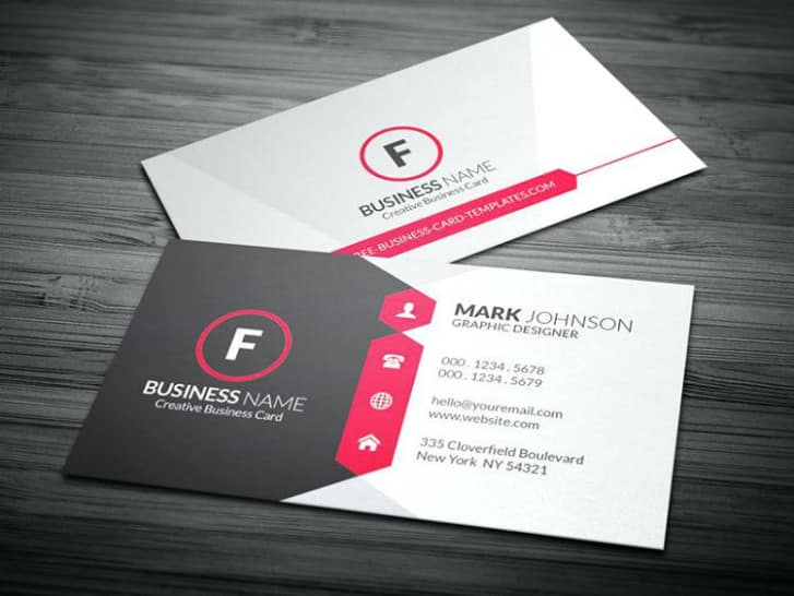 Free premium printable business card templates templatesguider printable business card friedricerecipe Image collections
