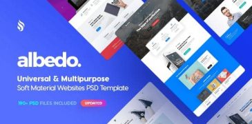 Download Free Web Design Templates in Photoshop PSD
