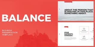 Balance Keynote Templates