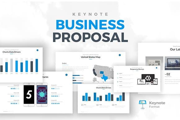 Business Proposals Keynote Templates