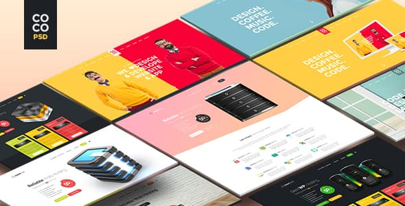Coco Creative WEB Design Templates