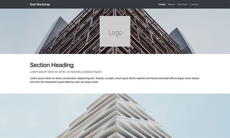 Full Width Pics Bootstrap Templates