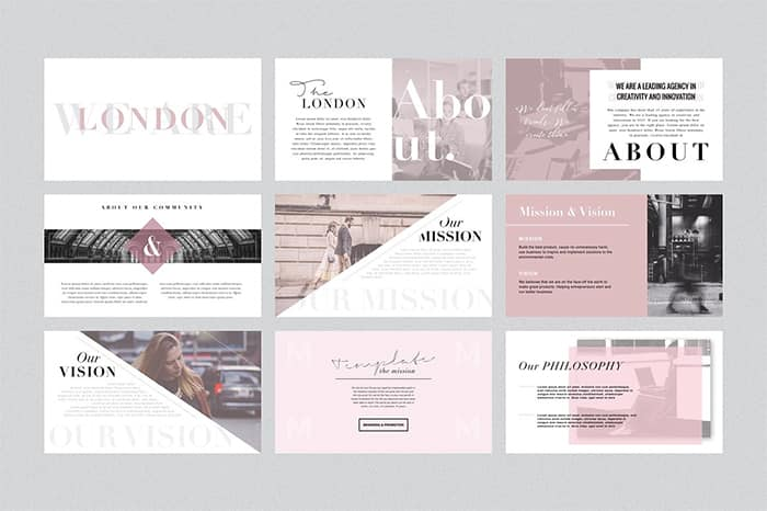 London Keynote Templates