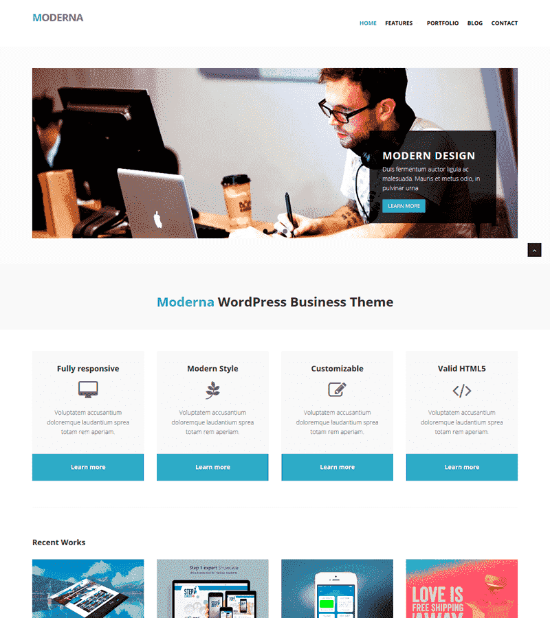 Modern Business Bootstrap Templates
