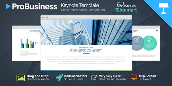 ProBusiness Keynote Templates
