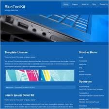BlueToolkit Website Template