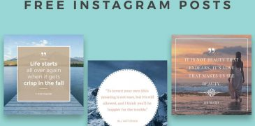 Download Top 15 Free Instagram Templates Online for Free