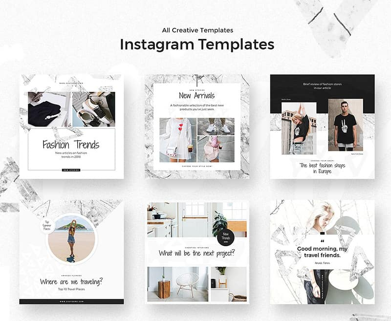 Instagram Branded Templates