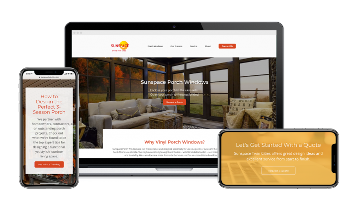 client need a responsive website Design