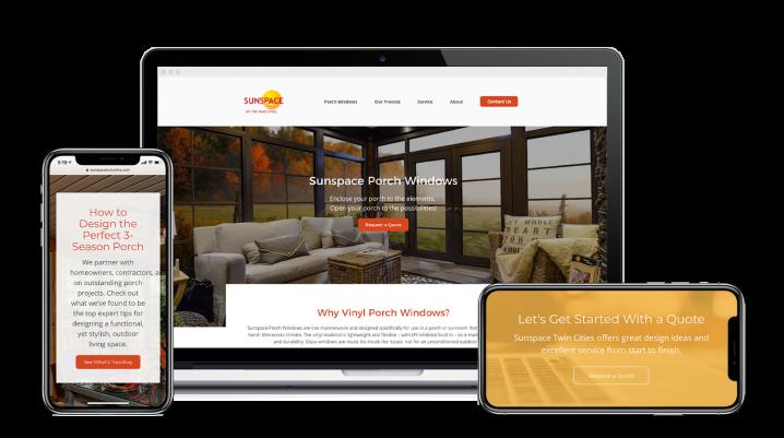 client need a responsive website Design