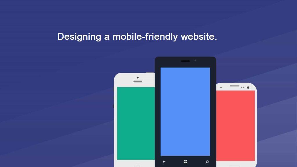 designing a mobile-friendly website